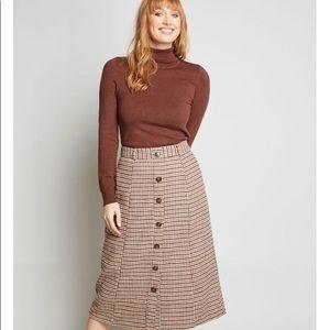 NWOT ModCloth wool skirt
